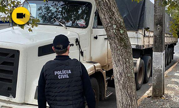 Polícia Civil de Ponta Grossa apreende carga de soja desviada do MS