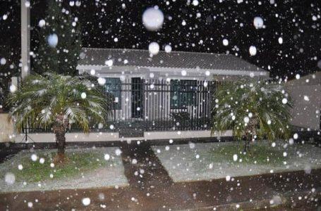 Lembrança: há 7 anos nevou em São Mateus do Sul