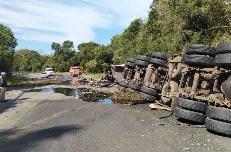 Vítima fatal de acidente na BR-476 é morador de Antonio Olinto
