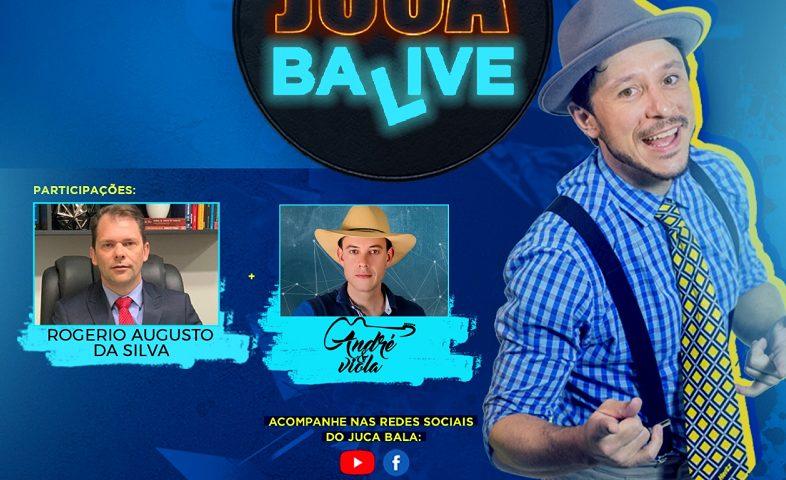 André & Viola se apresenta no 'Juca Ba Live' nesta terça-feira