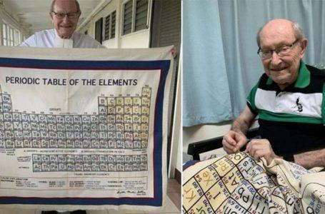 Professor borda a tabela periódica por 20 anos e viraliza ao mostrar o resultado