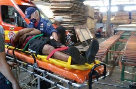 Homem fica ferido após ser prensado por equipamento industrial em Porto União
