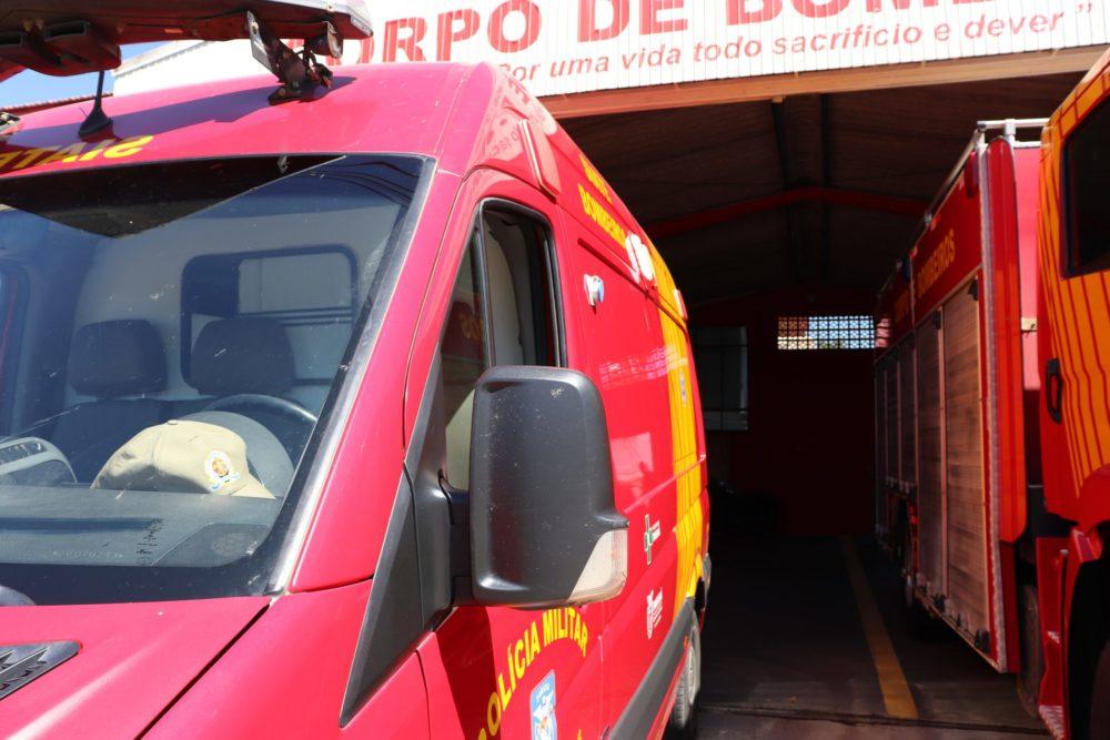 PM e Bombeiros são acionados para conter briga entre casal no centro de São Mateus do Sul