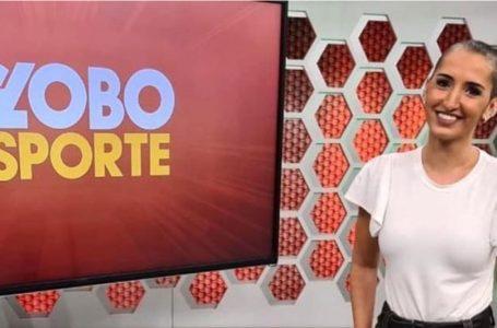 Jornalista em tratamento de câncer abandona peruca e apresenta programa careca