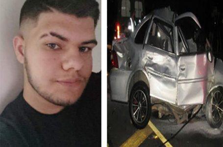 Jovem iratiense morre em acidente na BR-277