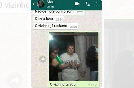 """Moradores de São Mateus do Sul viralizam na internet com meme """"o vizinho ta aqui"""""""