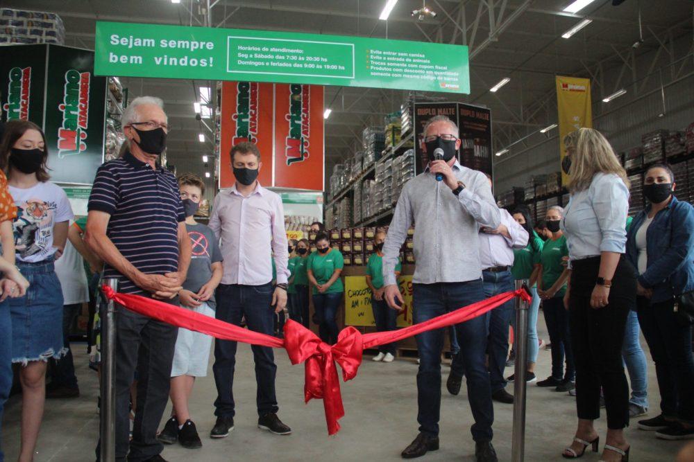 Mariano Atacadista inaugura em São Mateus do Sul e garante economia no final das compras