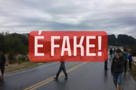 É FAKE: imagem de queda da Ponte em São João do Triunfo não é desse ano