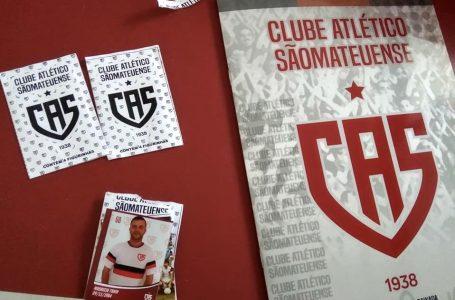Grupo resgata história do Clube Atlético Sãomateuense em álbum de figurinhas