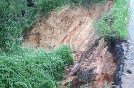 Deslizamento mantém BR-280 interditada de Mafra a Canoinhas