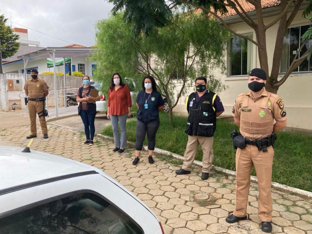 Vigilância Sanitária e Polícia Militar realizam fiscalização ao decreto Estadual neste sábado (27)