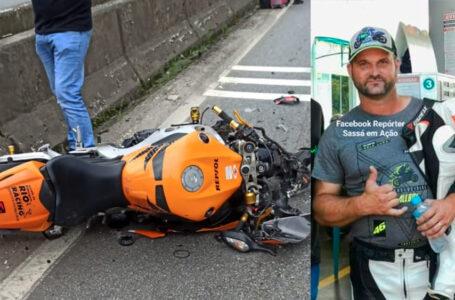 Motociclista de Palmeira morre em grave acidente em Guaratuba