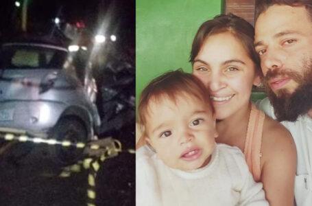 Carro atinge caminhão e três ocupantes da mesma família morrem na hora no Paraná