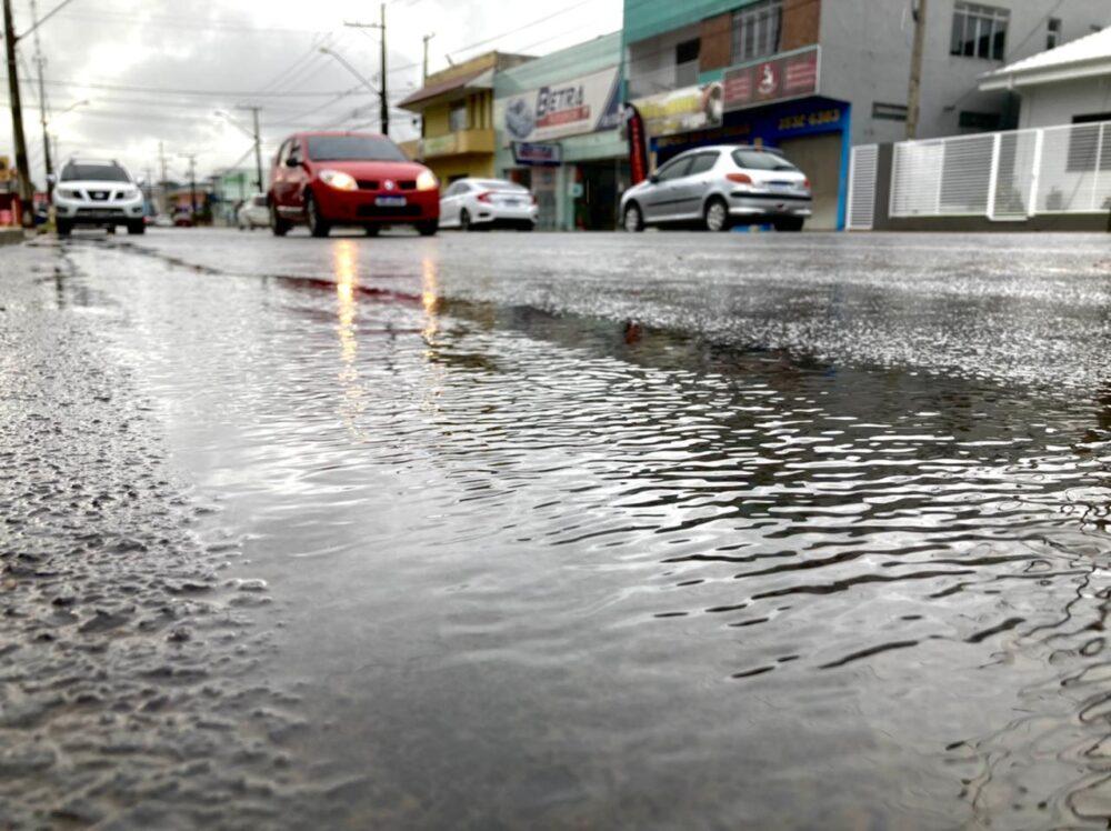 Simepar aponta semana de chuva em São Mateus do Sul