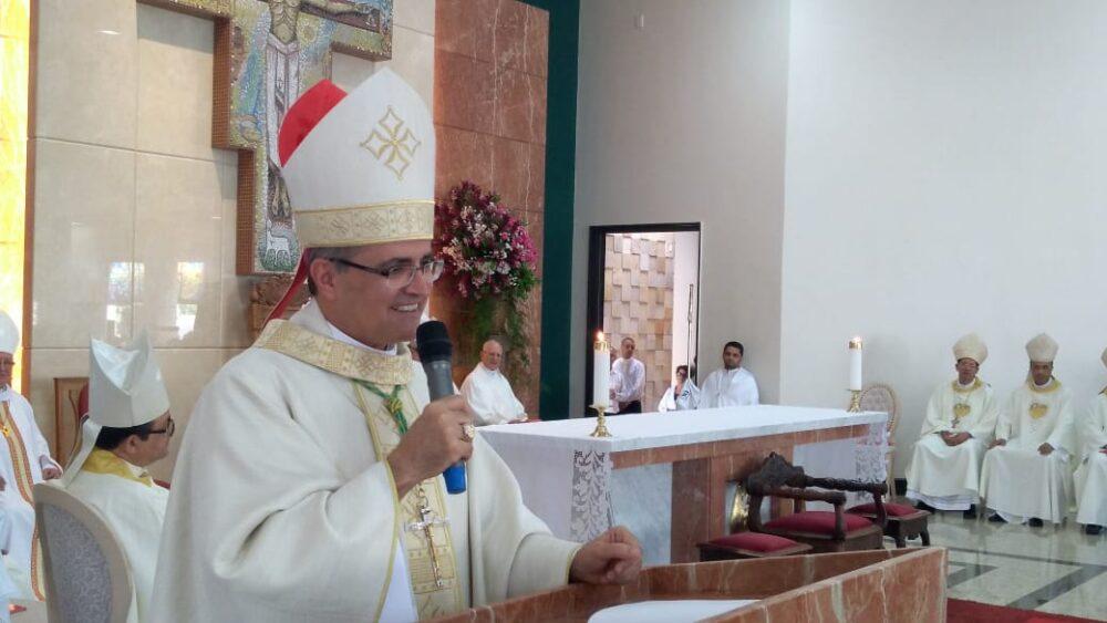 Dom Walter Jorge celebra dois anos de episcopado
