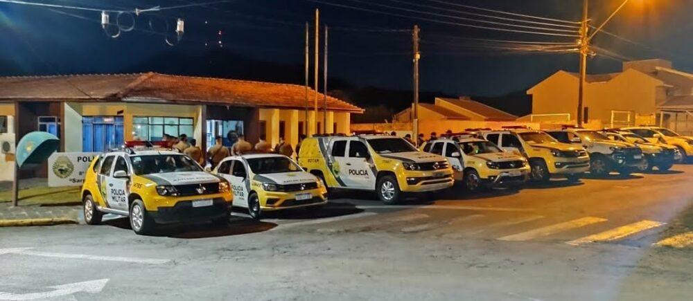 Força-tarefa multa mais de 130 pessoas que não estavam usando máscara em Irati