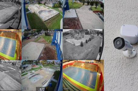 Câmeras de segurança trarão maior segurança aos frequentadores do Ginásio Polacão
