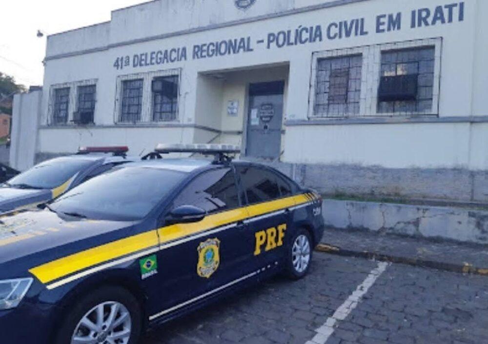 PRF prende passageiro de ônibus por importunação sexual em Irati
