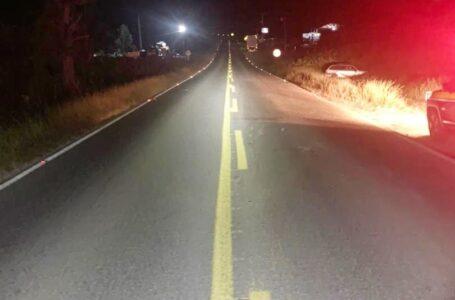 Motorista embriagado se envolve em acidente na BR-153, em Rebouças