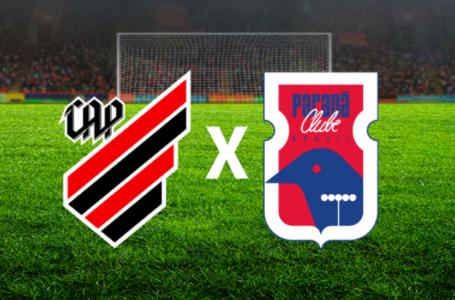 Athletico encara Paraná pelas quartas de final do Estadual