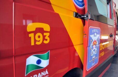 Tragédia: Menina de dois anos morre em incêndio no Paraná