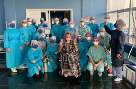 Morador de São Mateus do Sul ganha alta da UTI depois de 42 dias internado após contrair a covid-19