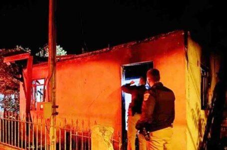 Homem morre carbonizado após incêndio em residência na cidade de Rebouças