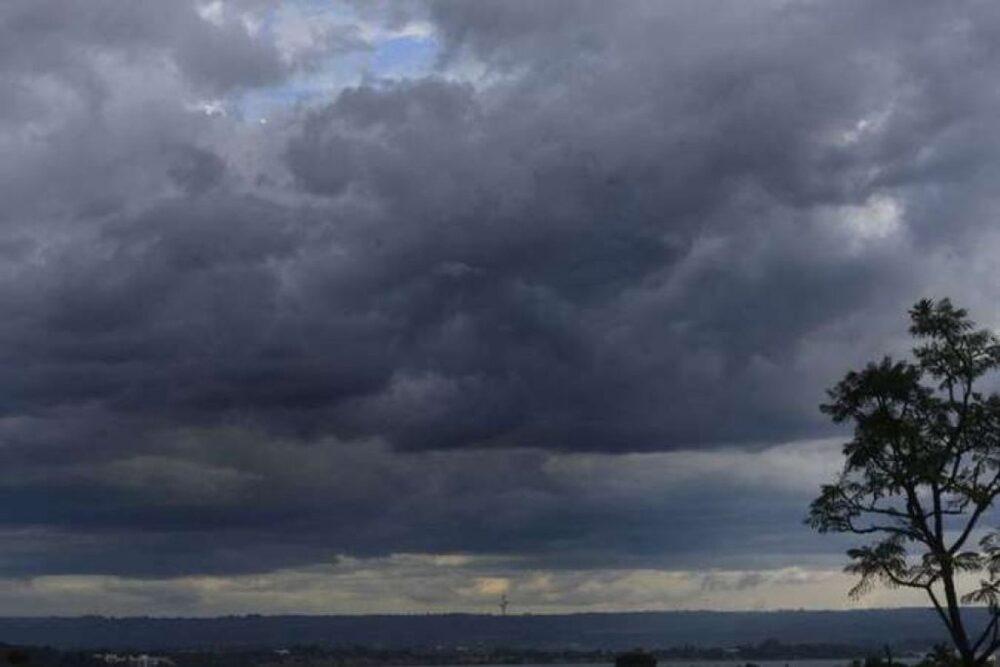Simepar prevê chuva no fim de semana e mínima de 12ºC em São Mateus do Sul