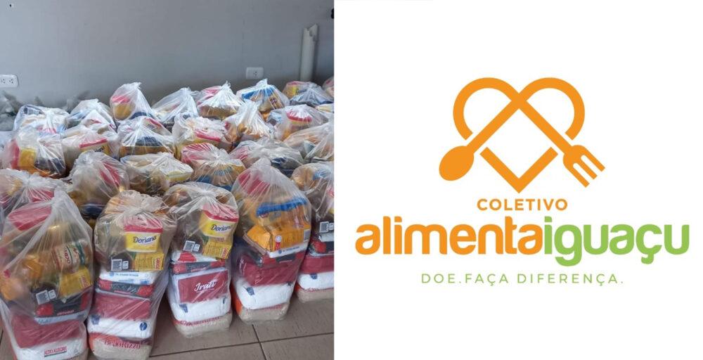 """Cidades da região se unem e montam o """"Coletivo Alimenta Iguaçu"""", saiba quem são e como ajudar"""