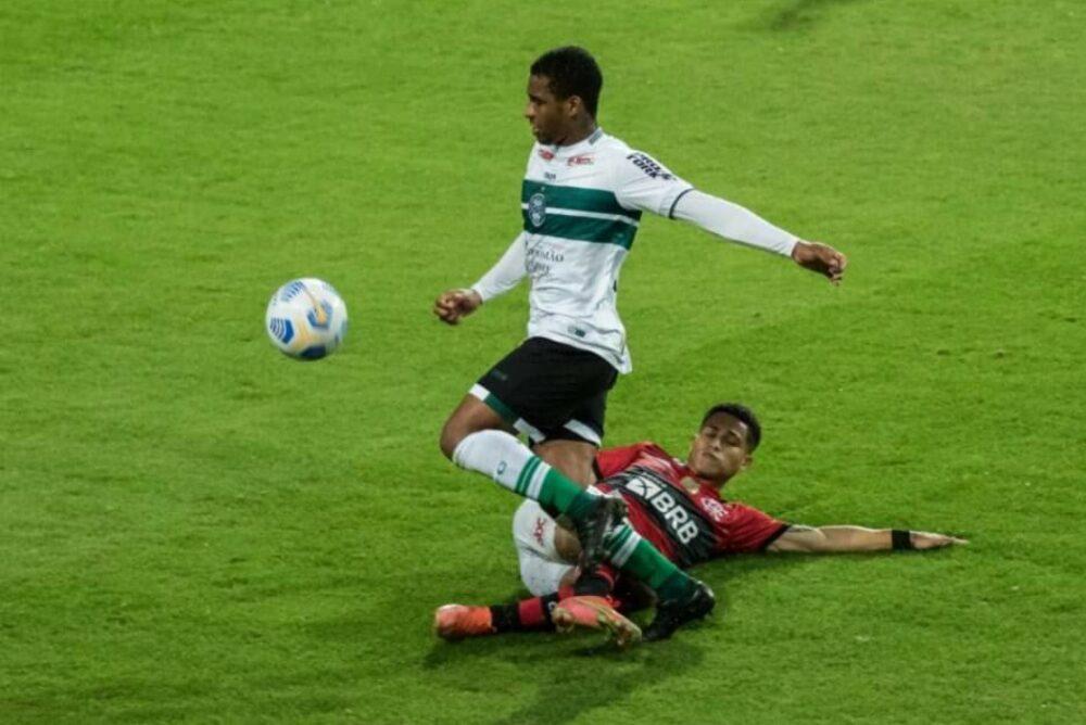 Coritiba é derrotado pelo Flamengo e sai em desvantagem pela Copa do Brasil
