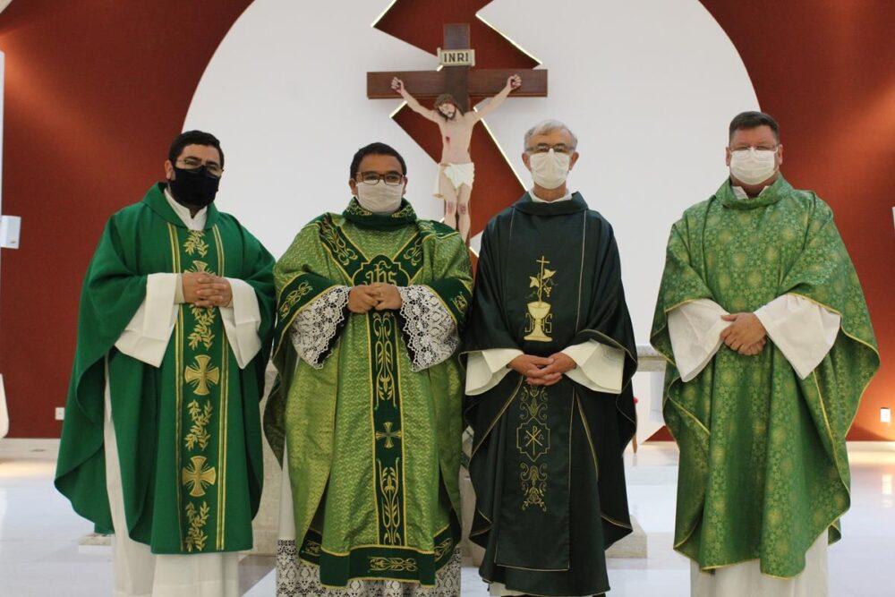 Padre José Damião é o novo Vigário da Paróquia Perpétuo Socorro