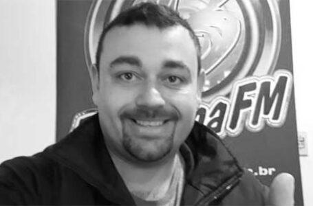 Radialista de Bituruna morre de Covid-19 aos 37 anos