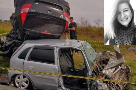 Professora morre em acidente na BR-277, em Palmeira