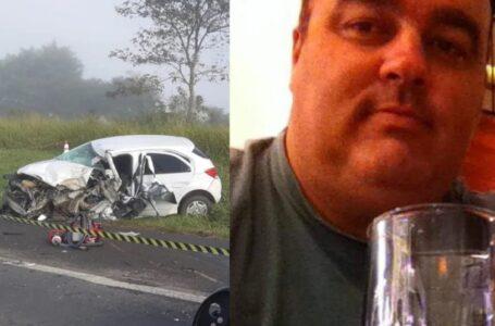 Policial militar morre após bater carro de frente contra caminhão no Paraná