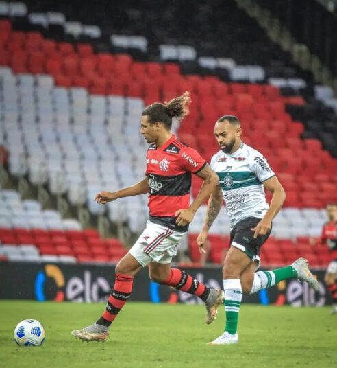 Coritiba joga mal, perde para o Flamengo e é eliminado da Copa do Brasil