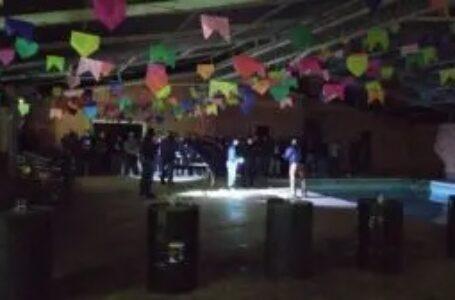 Fiscalização encerra festa 'junina' clandestina em Curitiba