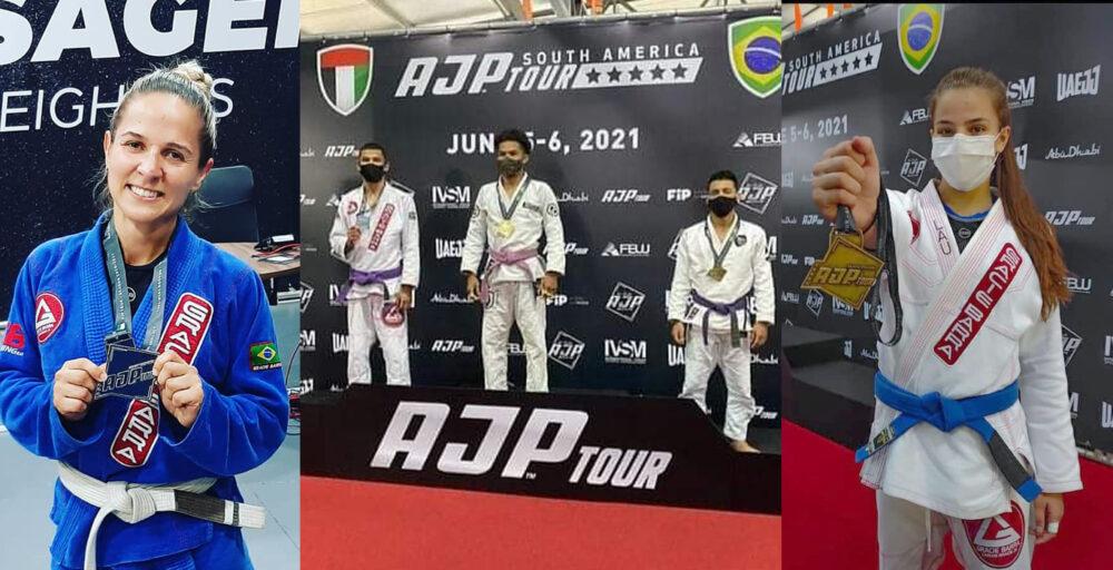 Moradores de São Mateus do Sul conquistam medalhas em campeonato de jiu-jitsu