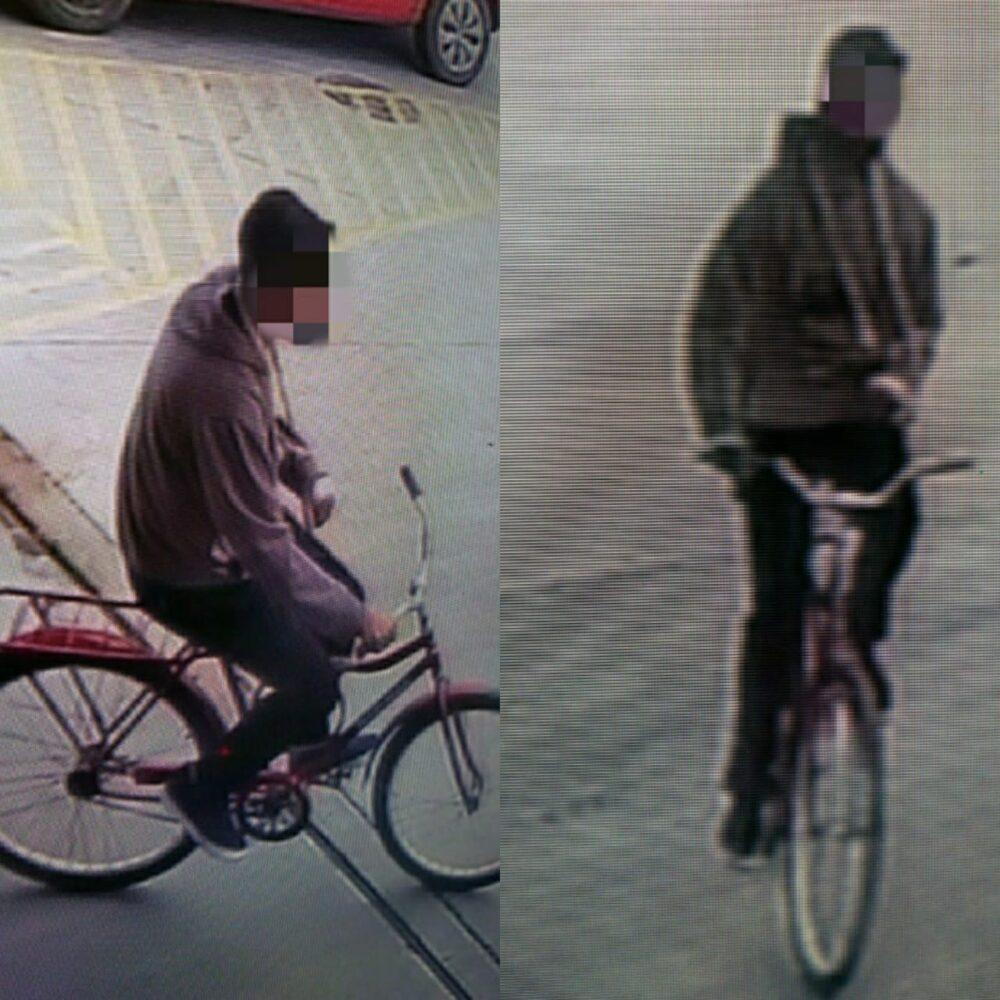 Mesmo com braço enfaixado, adolescente furta bicicleta, se arrepende e devolve ao dono