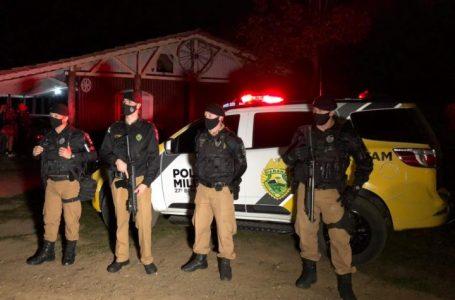 Fiscalização encerra mais uma festa em União da Vitória