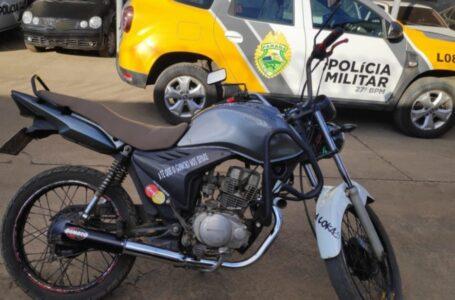 Homem é preso por receptação de motocicleta com alerta de furto