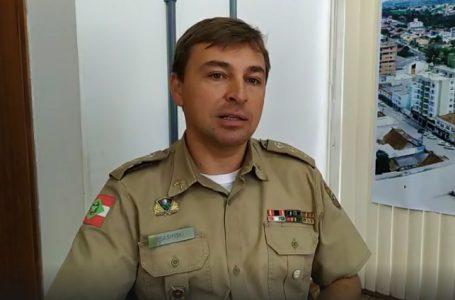 Em entrevista à RDX, Tenente Coronel Sasinski fala sobre feminicídio em Três Barras