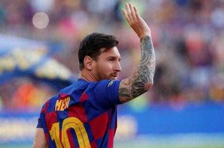 Barcelona anuncia saída de Messi do time