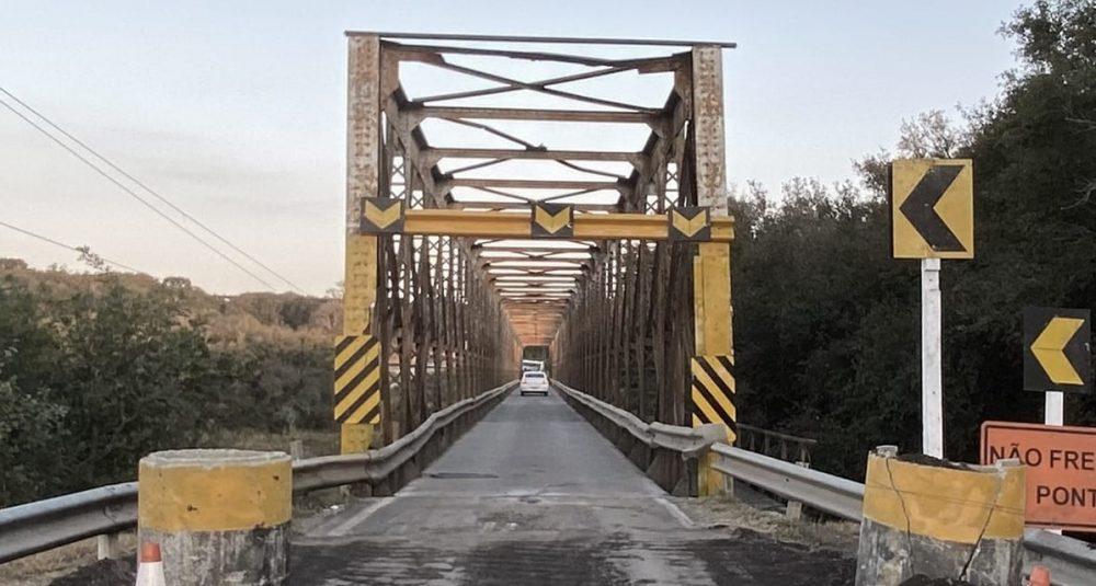 Ponte entre Lapa e Campo do Tenente será totalmente interditada nesta sexta (20)