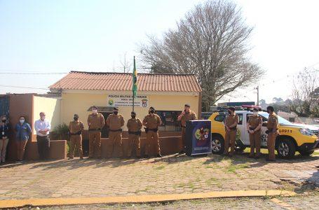 BPEC de São Mateus do Sul recebe viatura zero quilômetros para melhoria no atendimento escolar