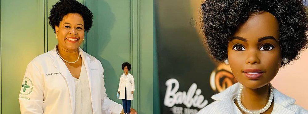 Barbie lança boneca em homenagem a brasileira responsável por sequenciar DNA do coronavírus