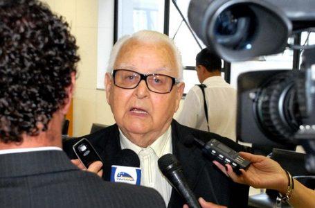 Morre aos 96 anos Emílio Hoffmann Gomes, ex-governador do Paraná