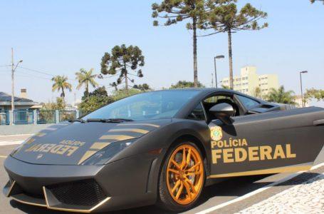 Lamborghini apreendida em operação será usada pela Polícia Federal