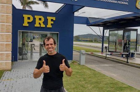 Ex-engraxate realiza sonho em ser aprovado em concurso da Polícia Rodoviária Federal