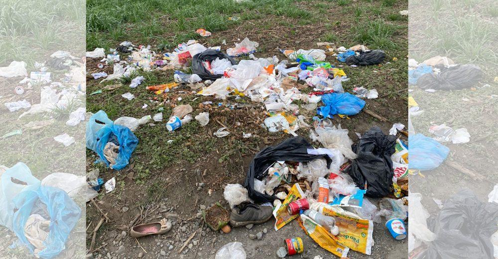 Lixo é descartado indevidamente próximo a Fazenda Maria Izabel