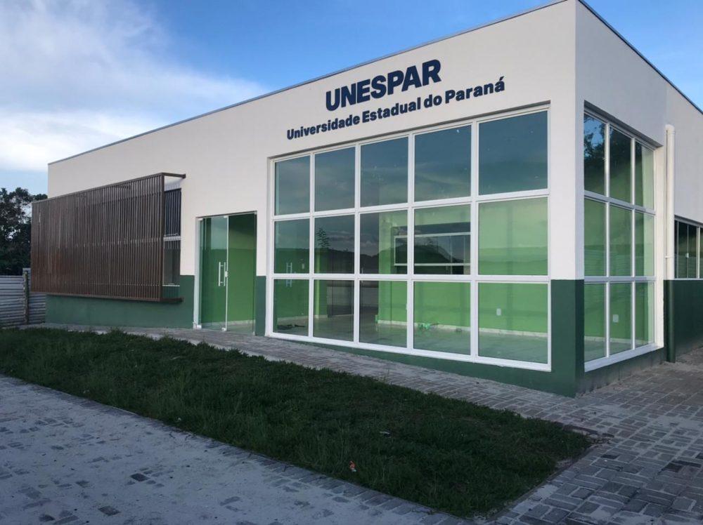 Unespar inaugura novo bloco no Campus de União da Vitória